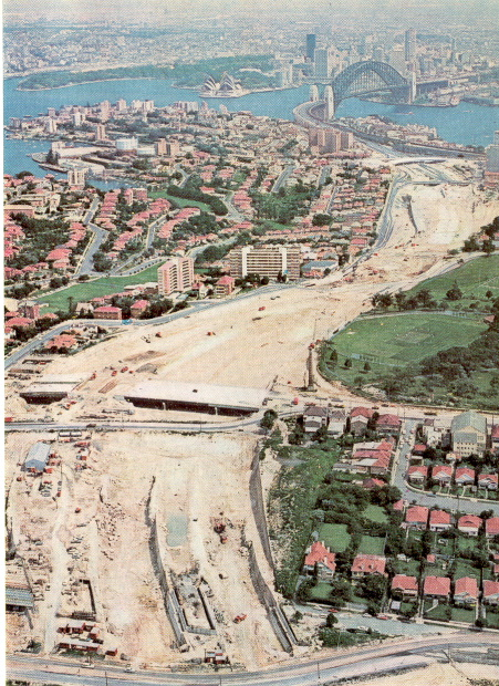 Falcon St-construction aerial 1967